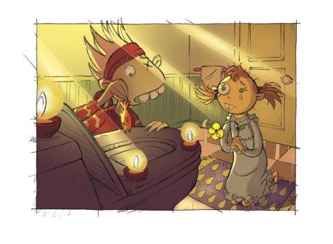 Image from Titi Krapouti et cie T.2 comics by StphanieLeduc