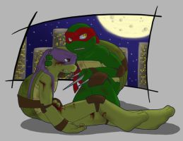 TMNT: Give me a minute... by NamiAngel
