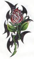 Tangled Rose ... by ReaperXXIV