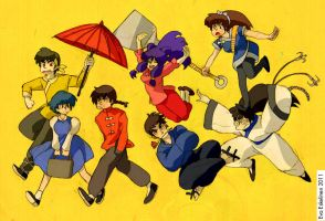 Ranma friends, rivals, lovers by evelmiina