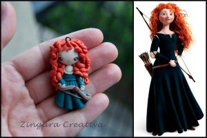 brave merida by zingaracreativa