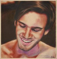 PewDiePie - Drawing by Tokiiolicious