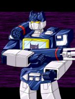 Soundwave colored by Wrecker-lady