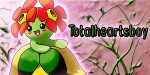 Bellossom signature by Totalheartsboy