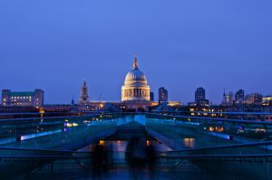 St Paul's Cathedral by Eternal-Symphony