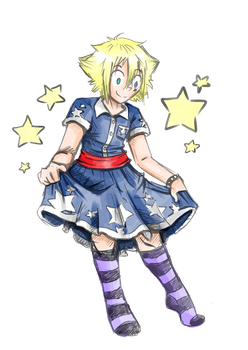 The Boy In The Dress by JammyScribbler
