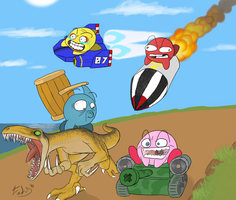 Kirby Air Ride 2: Xtreme by FadyFTJ