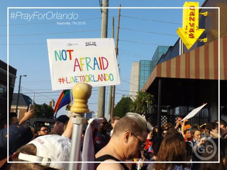 We Are Not Afraid #LoveToOrlando by PeaceIsTheKey