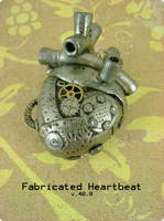 Fabricated Heartbeat - Back by monsterkookies