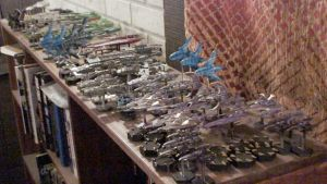 Babylon 5 wars...one 1/2 of my collection by THE-WHITE-TIGER