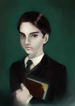 Tom Marvolo Riddle by TriforceCarrier