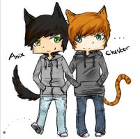 Anix+Chester by Xylerz