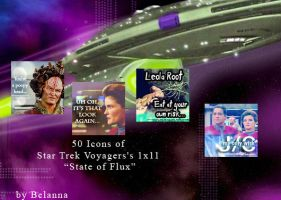 50 Star Trek Voyager Icons: State of Flux by Belanna42