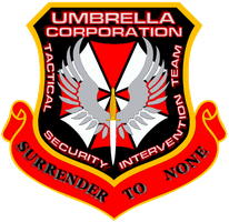 Resident Evil Umbrella Corp by viperaviator