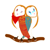 Barn Owl LUV!!! by ChocoGhost