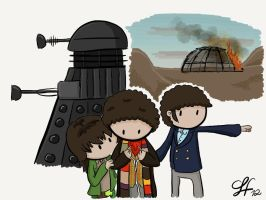 Genesis of the Daleks by gnasler