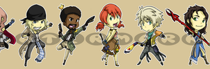 Stickers: Final Fantasy XIII by forte-girl7