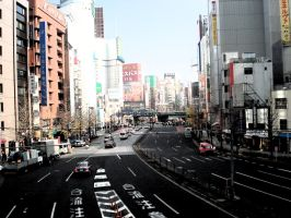 Tokyo at the morning by pgChan