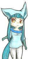 Glaceon by alchemy2day