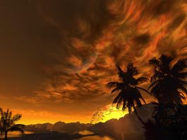 Fire In The Sky by Casperium