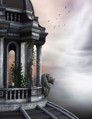 Lion Prophecy Background by EverildWolfden