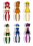 Rainbow Adopts -Closed- by Miss-Adoptables