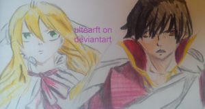 mavis and zeref by FTerza