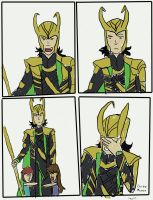 Good luck, Loki by CarboMcoco