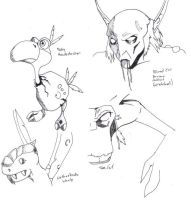 WoW Sketchs by FactionFighter