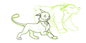 Through the Eyes of a Feral Druid WIP by doryphish333