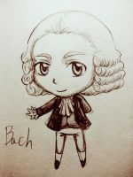 SD Bach by ShiroiYoukai
