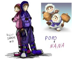Project SMASH - Ice Climbers by Krowjak