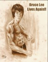 bruce lee by vash2005