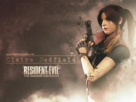 Claire Redfield wallpaper REDC by Claire-Wesker1