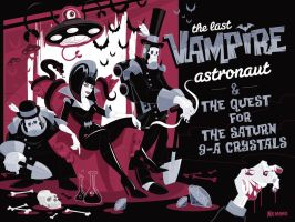 The Last Vampire Astronaut by Nemons