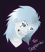 Derpzombii Whiteface request by DesmodiaDesigns