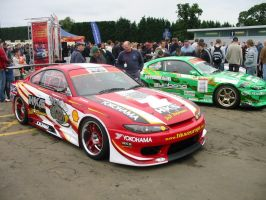 D1 Drift Cars At Silverstone by motor-man