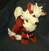 Arcanine Plush July 2012 by Shadottie