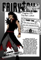 Fairy Tail- Gazille Coloring by terrongraham