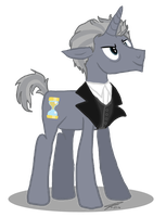 12th Doctor Pony II by AllysonCarver