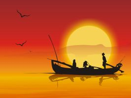 Fishermen by oufve