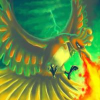 Sacred Bird Ho-oh by naturalradical