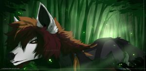 | welcome to the exile | +speedpaint by s-alvatore