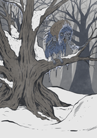 Winter Hag by ceallach-monster