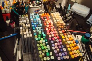 My Copic Collection by Mireielle