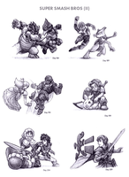 Super Smash Bros. (II) by WEAPONIX