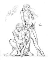 HoC - Rogue Gambit 03 sketch by Ludi-Price