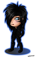 Andy Biersack Chibi by SavanasArt