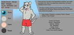 Dexter Reference Sheet by JomoOval