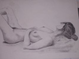 nude drawing by TomKilbane